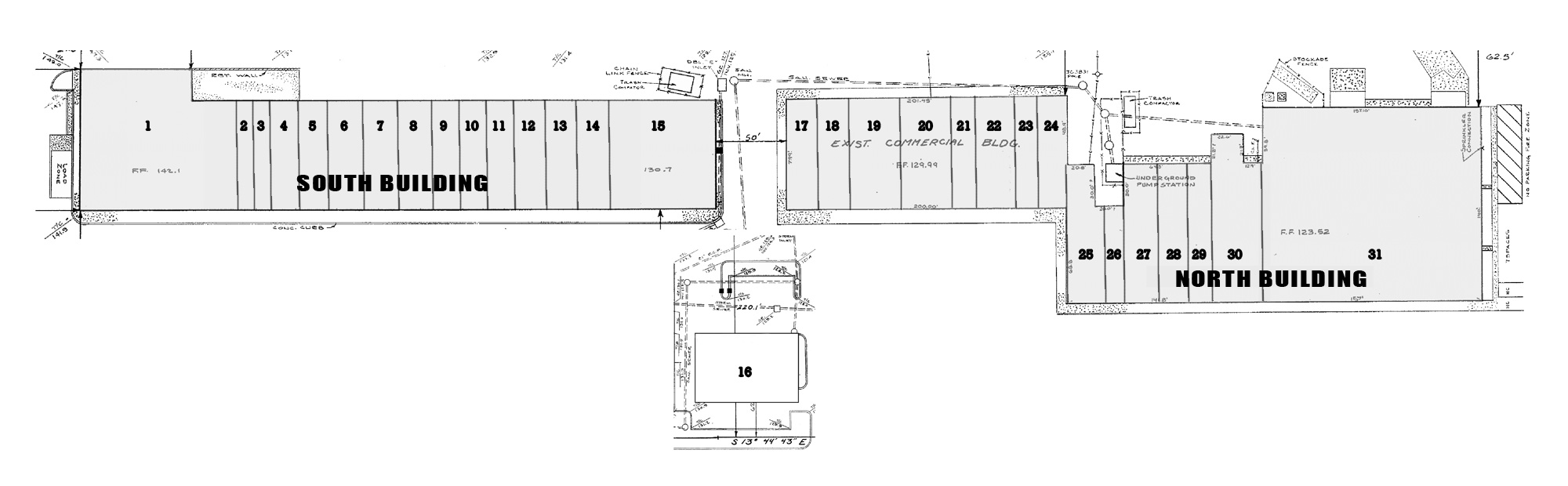 Howell Plaza Site Plan