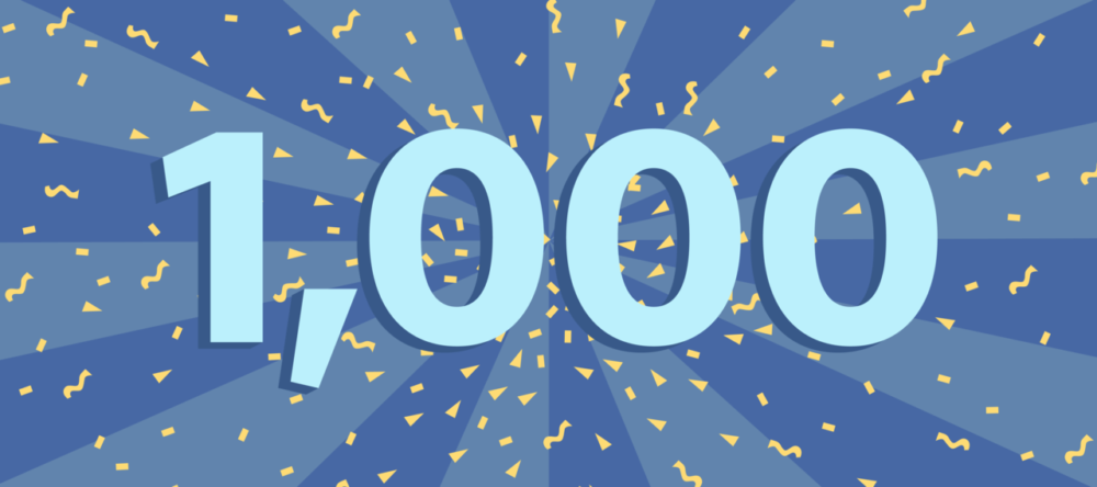 A Milestone Reached: over 1000+ job seekers have landed employment since Express Employment Professionals opened in 2015!